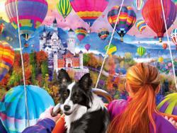 Neuschwanstein Balloons Balloons Large Piece