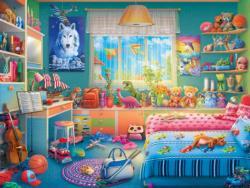 Annie's Hideway Domestic Scene Jigsaw Puzzle