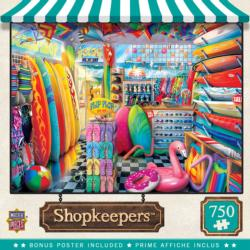 Beach Side Gear Shopping Jigsaw Puzzle