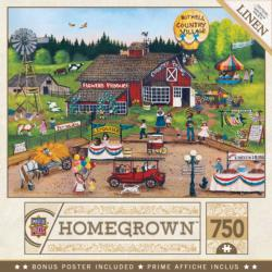 Country Pickens Farm Jigsaw Puzzle