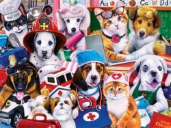 Essential Workers Animals Children's Puzzles