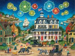 Fireworks Finale Fireworks Jigsaw Puzzle