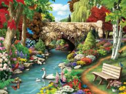 Willow Whispers Lakes / Rivers / Streams Jigsaw Puzzle