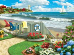 Coastal Getaway Seascape / Coastal Living Large Piece