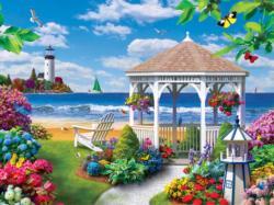 Oceanside View Seascape / Coastal Living Large Piece