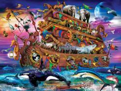 Noah's Ark Boats Large Piece
