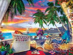 Paradise Breeze Seascape / Coastal Living Jigsaw Puzzle
