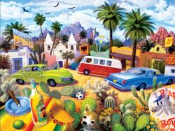 The Other Side of the Border Mexico Jigsaw Puzzle