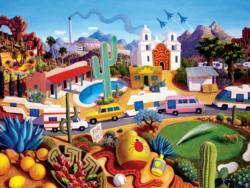 The Land of AZ Landscape Jigsaw Puzzle
