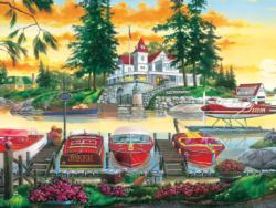 Millionaire's Row Lakes / Rivers / Streams Jigsaw Puzzle