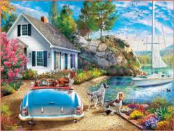 Afternoon Escape Lakes / Rivers / Streams Jigsaw Puzzle