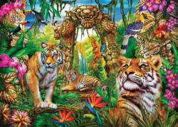 Mystery of the Jungle Tigers Jigsaw Puzzle