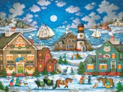 Guiding Light Seascape / Coastal Living Jigsaw Puzzle