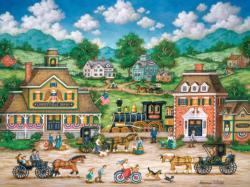 Libertyville Depot History Jigsaw Puzzle