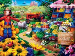 Fresh Farm Fruit Food and Drink Jigsaw Puzzle
