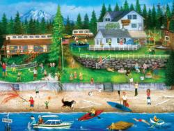 4th of July at Seabeck Lakes / Rivers / Streams Jigsaw Puzzle