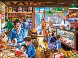Cakes & Treats Shopping Jigsaw Puzzle