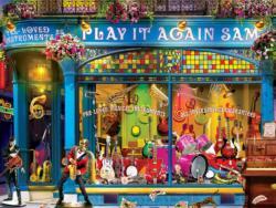 Play It Again Sam Shopping Jigsaw Puzzle