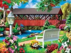 Countryside Park Bridges Jigsaw Puzzle