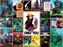 Smokey Bear - Scratch and Dent Collage Jigsaw Puzzle