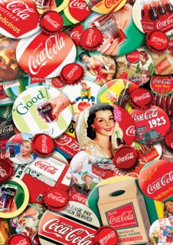 World's Smallest Coca-Cola Collage Tin Packaging