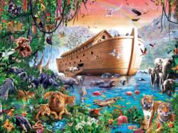 Noah's Ark Finds Shore Boats Jigsaw Puzzle