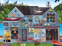 The Silver Trout General Store Large Piece