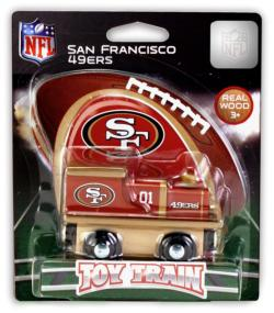 San Francisco 49ers Train San Francisco Toy