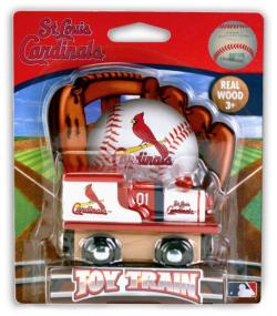 St. Louis Cardinals Toy Train Baseball Toy