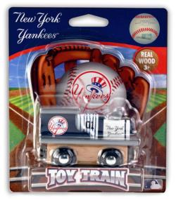 New York Yankees Train Baseball Toy
