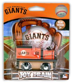 San Francisco Giants Train Baseball Toy