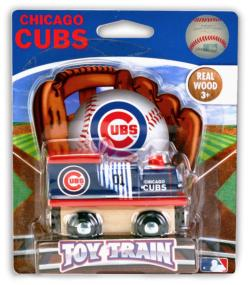 Chicago Cubs Train Baseball Toy