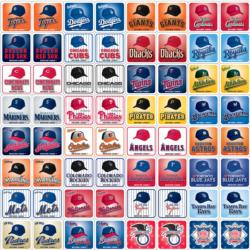MLB Matching Game Memory Games Children's Games