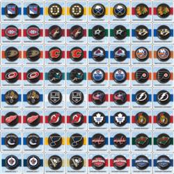 NHL Matching Game Father's Day