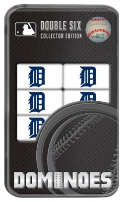 Detroit Tigers Dominoes Toy