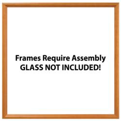 "25"" x 25"" Square Wood Frame Accessory"