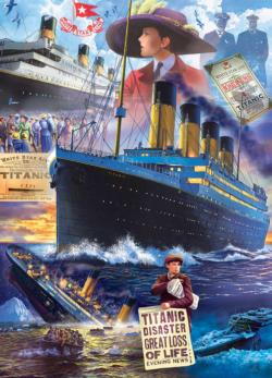 Titanic Collage - Scratch and Dent Collage Jigsaw Puzzle