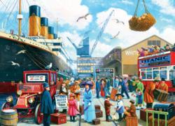 Titanic Now Boarding Titanic Jigsaw Puzzle