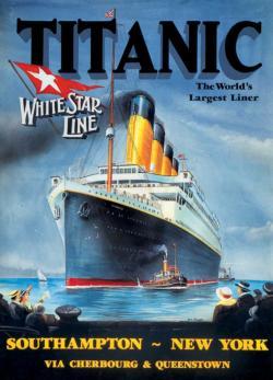 White Star Line Titanic Jigsaw Puzzle