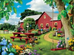 Picnic Paradise (Lazy Days) Summer Jigsaw Puzzle