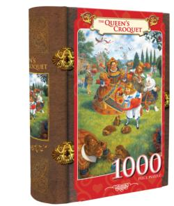 The Queen's Croquet Movies / Books / TV Jigsaw Puzzle