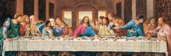 The Last Supper Religious Panoramic Puzzle