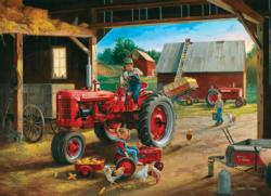 Farmall Friends Farm Tin Packaging
