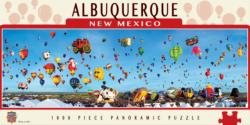Albuquerque Balloons (Panoramic Puzzle) National Parks Panoramic