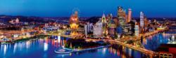 Pittsburgh 1,000 Piece Panoramic Puzzle Cities Panoramic Puzzle
