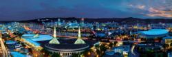 Portland 1,000 Piece Panoramic Puzzle Skyline / Cityscape Panoramic Puzzle