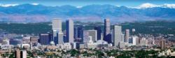 Denver 1,000 Piece Panoramic Skyline / Cityscape Panoramic Puzzle