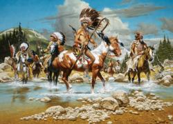 The Chiefs Native American Jigsaw Puzzle