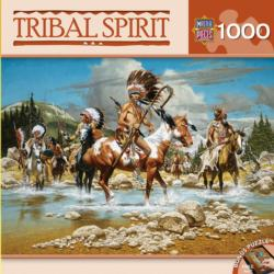 The Chiefs (Tribal Spirit) Landscape Jigsaw Puzzle