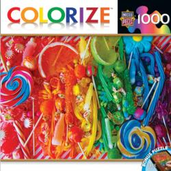 Taste the Rainbow (Colorize) Pattern / Assortment Jigsaw Puzzle